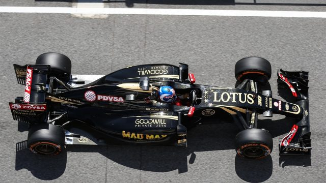 Romain Grosjean (FRA) Lotus E23 Hybrid at Formula One World Championship, Rd5, Spanish Grand Prix Practice, Barcelona, Spain, Friday 8 May 2015. &copy&#x3b; Sutton Motorsport Images