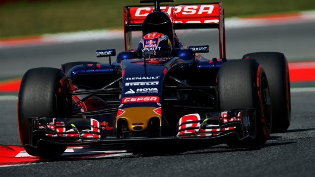 Max Verstappen (NDL) Scuderia Toro Rosso STR10 at Formula One World Championship, Rd5, Spanish Grand Prix Practice, Barcelona, Spain, Friday 8 May 2015. &copy&#x3b; Sutton Motorsport Images