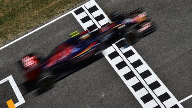Carlos Sainz jr (ESP) Scuderia Toro Rosso STR10 at Formula One World Championship, Rd5, Spanish Grand Prix Practice, Barcelona, Spain, Friday 8 May 2015. &copy&#x3b; Sutton Motorsport Images