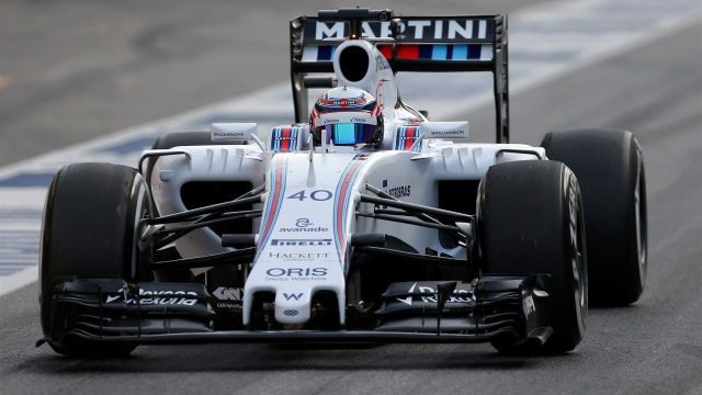 Alex Lynn (GBR) Williams FW37 at Formula One Testing, Day Two, Barcelona, Spain, 13 May 2015. &copy&#x3b; Sutton Motorsport Images