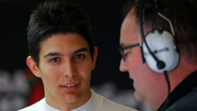 Esteban Ocon (FRA) Force India F1 Test Driver at Formula One Testing, Day Two, Barcelona, Spain, 13 May 2015. &copy&#x3b; Sutton Motorsport Images