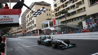 Rosberg scores surprise Monaco hat-trick after late race drama