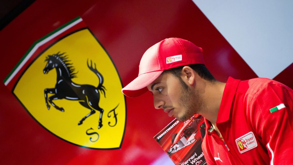 Ferrari%20hand%20test%20chance%20to%2019-year-old%20Fuoco
