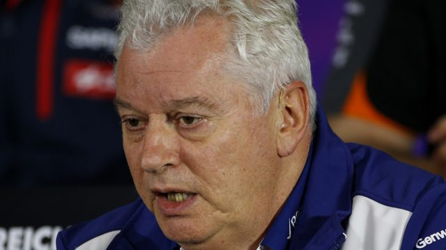 Pat Symonds (GBR) Williams Technical Director in the Press Conference at Formula One World Championship, Rd8, Austrian Grand Prix, Practice, Spielberg, Austria, Friday 19 June 2015. &copy&#x3b; Sutton Motorsport Images
