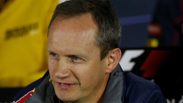Paul Monaghan (GBR) Red Bull Racing Chief Engineer in the Press Conference at Formula One World Championship, Rd8, Austrian Grand Prix, Practice, Spielberg, Austria, Friday 19 June 2015. &copy&#x3b; Sutton Motorsport Images