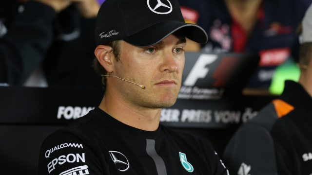 Nico Rosberg (GER) Mercedes AMG F1 in the press conference at Formula One World Championship, Rd8, Austrian Grand Prix, Preparations, Spielberg, Austria, Thursday 18 June 2015. &copy&#x3b; Sutton Motorsport Images