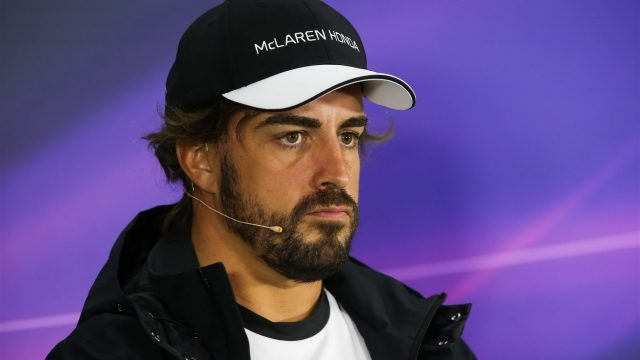 Fernando Alonso (ESP) McLaren in the press conference at Formula One World Championship, Rd8, Austrian Grand Prix, Preparations, Spielberg, Austria, Thursday 18 June 2015. &copy&#x3b; Sutton Motorsport Images