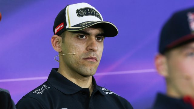 Pastor Maldonado (VEN) Lotus at the Press Confernece at Formula One World Championship, Rd7, Canadian Grand Prix, Preparations, Montreal, Canada, Thursday 4 June 2015. &copy&#x3b; Sutton Motorsport Images