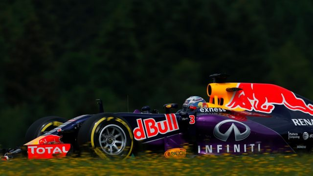Daniel Ricciardo (AUS) Red Bull Racing RB11 at Formula One World Championship, Rd8, Austrian Grand Prix, Practice, Spielberg, Austria, Friday 19 June 2015. &copy&#x3b; Sutton Motorsport Images