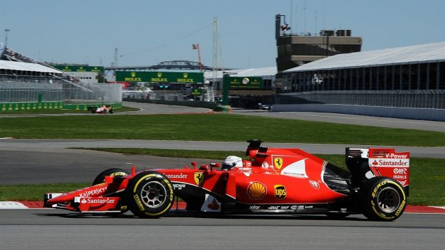 Sebastian Vettel (GER) Ferrari SF15-T at Formula One World Championship, Rd7, Canadian Grand Prix, Qualifying, Montreal, Canada, Saturday 6 June 2015. &copy&#x3b; Sutton Motorsport Images