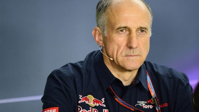 Franz Tost (AUT) Scuderia Toro Rosso Team Principal in the Press Conference at Formula One World Championship, Rd10, Hungarian Grand Prix, Practice, Hungaroring, Hungary, Friday 24 July 2015. &copy&#x3b; Sutton Motorsport Images