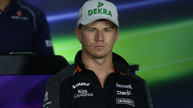 Nico Hulkenberg (GER) Force India F1 in the press conference at Formula One World Championship, Rd10, Hungarian Grand Prix, Preparations, Hungaroring, Hungary, Thursday 23 July 2015. &copy&#x3b; Sutton Motorsport Images