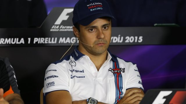 Felipe Massa (BRA) Williams in the press conference at Formula One World Championship, Rd10, Hungarian Grand Prix, Preparations, Hungaroring, Hungary, Thursday 23 July 2015. &copy&#x3b; Sutton Motorsport Images
