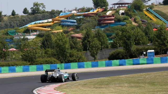 Nico Rosberg (GER) Mercedes AMG F1 W06 at Formula One World Championship, Rd10, Hungarian Grand Prix, Qualifying, Hungaroring, Hungary, Saturday 25 July 2015. &copy&#x3b; Sutton Motorsport Images