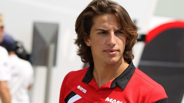 Roberto Merhi (ESP) Marussia at Formula One World Championship, Rd10, Hungarian Grand Prix, Preparations, Hungaroring, Hungary, Thursday 23 July 2015. &copy&#x3b; Sutton Motorsport Images