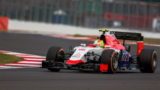 Roberto Merhi (ESP) Marussia F1 Team at Formula One World Championship, Rd9, British Grand Prix, Qualifying, Silverstone, England, Saturday 4 July 2015. &copy&#x3b; Sutton Motorsport Images
