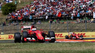 Vettel beats Kvyat and Ricciardo in Hungarian thriller