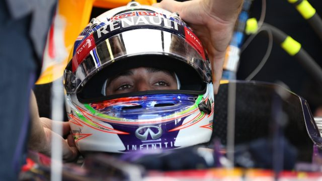 Daniel Ricciardo (AUS) Red Bull Racing RB11 at Formula One World Championship, Rd10, Hungarian Grand Prix, Practice, Hungaroring, Hungary, Friday 24 July 2015. &copy&#x3b; Sutton Motorsport Images