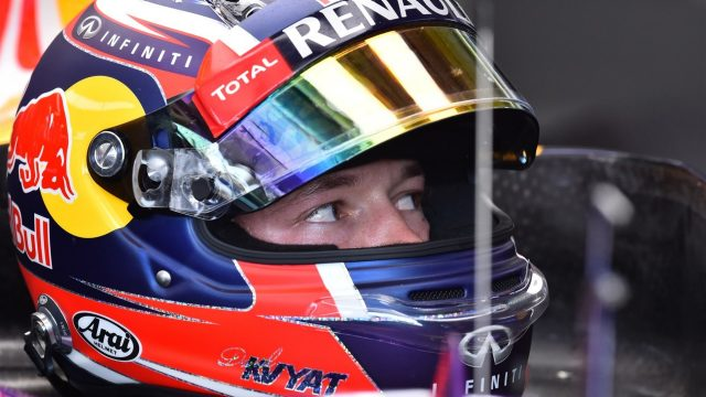 Daniil Kvyat (RUS) Red Bull Racing RB11 at Formula One World Championship, Rd10, Hungarian Grand Prix, Practice, Hungaroring, Hungary, Friday 24 July 2015. &copy&#x3b; Sutton Motorsport Images