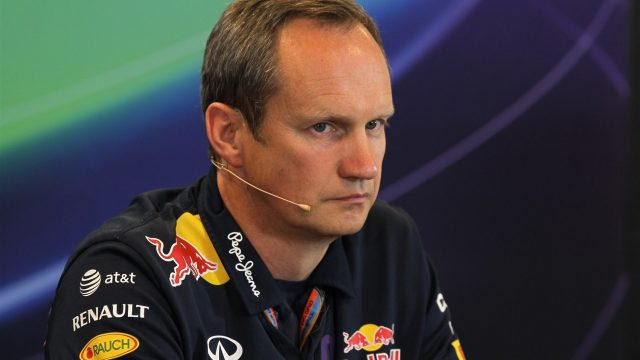 Paul Monaghan (GBR) Red Bull Racing Chief Engineer in the Press Conference at Formula One World Championship, Rd11, Belgian Grand Prix, Practice, Spa Francorchamps, Belgium, Friday 21 August 2015. &copy&#x3b; Sutton Motorsport Images