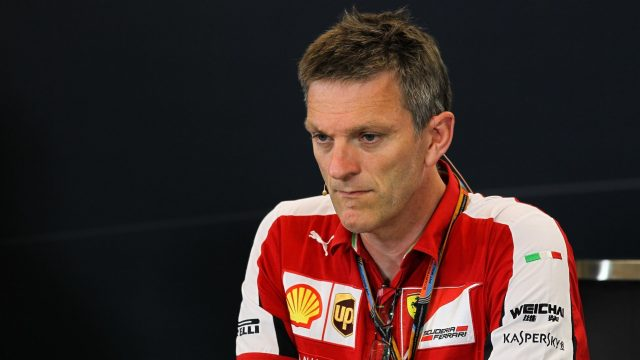 James Allison (GBR) Ferrari Chassis Technical Director in the Press Conference at Formula One World Championship, Rd11, Belgian Grand Prix, Practice, Spa Francorchamps, Belgium, Friday 21 August 2015. &copy&#x3b; Sutton Motorsport Images