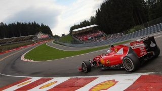 Vettel defends Ferrari over Spa strategy