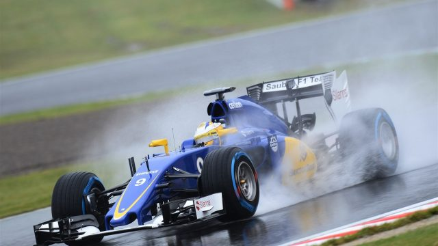 Marcus Ericsson (SWE) Sauber C34 at Formula One World Championship, Rd14, Japanese Grand Prix, Practice, Suzuka, Japan, Friday 25 September 2015. &copy&#x3b; Sutton Motorsport Images