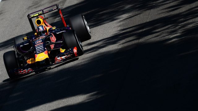 Daniil Kvyat (RUS) Red Bull Racing RB11 at Formula One World Championship, Rd12, Italian Grand Prix, Qualifying, Monza, Italy, Saturday 5  September 2015. &copy&#x3b; Sutton Motorsport Images