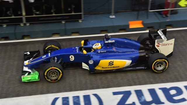 Marcus Ericsson (SWE) Sauber C34 at Formula One World Championship, Rd13, Singapore Grand Prix, Practice, Marina Bay Street Circuit, Singapore, Friday 18 September 2015. &copy&#x3b; Sutton Motorsport Images
