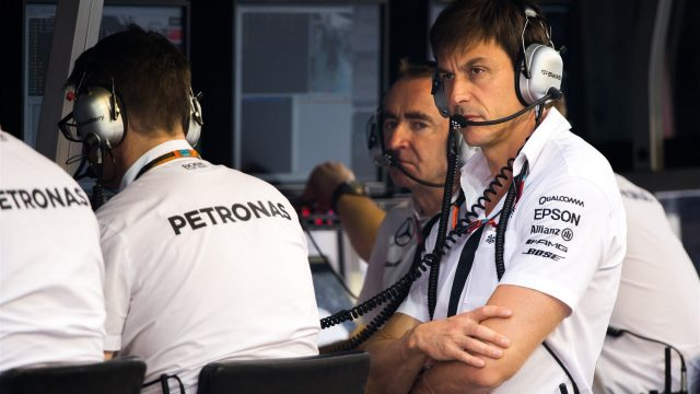 Toto Wolff (AUT) Mercedes AMG F1 Director of Motorsport at Formula One World Championship, Rd13, Singapore Grand Prix, Qualifying, Marina Bay Street Circuit, Singapore, Saturday 19  September 2015. &copy&#x3b; Sutton Motorsport Images