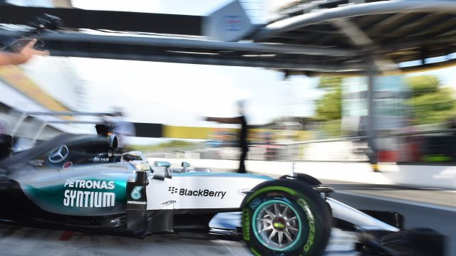 Lewis Hamilton (GBR) Mercedes AMG F1 W06 at Formula One World Championship, Rd12, Italian Grand Prix, Qualifying, Monza, Italy, Saturday 5  September 2015. &copy&#x3b; Sutton Motorsport Images