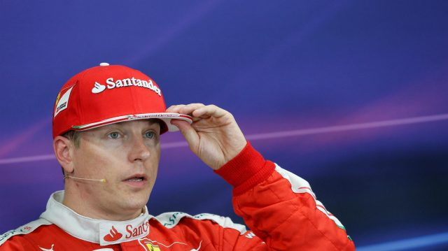 Kimi Raikkonen (FIN) Ferrari in the Press Conference at Formula One World Championship, Rd17, Japanese Grand Prix, Qualifying, Suzuka, Japan, Saturday 8 October 2016. &copy&#x3b; Sutton Images