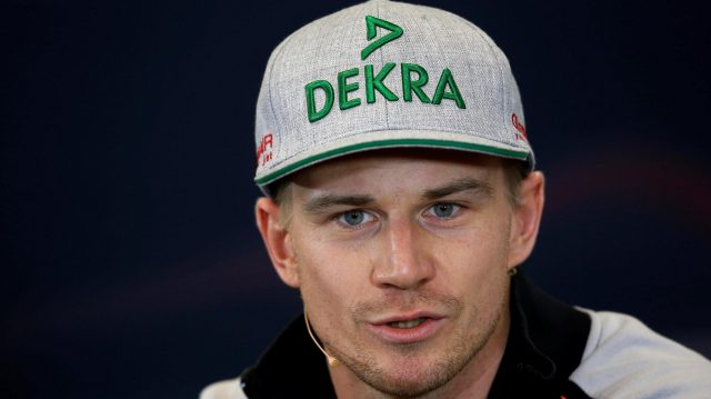 Nico Hulkenberg (GER) Force India F1 in the Press Conference at Formula One World Championship, Rd18, United States Grand Prix, Preparations, Circuit of the Americas, Austin, Texas, USA, Thursday 20 October 2016. &copy&#x3b; Sutton Images
