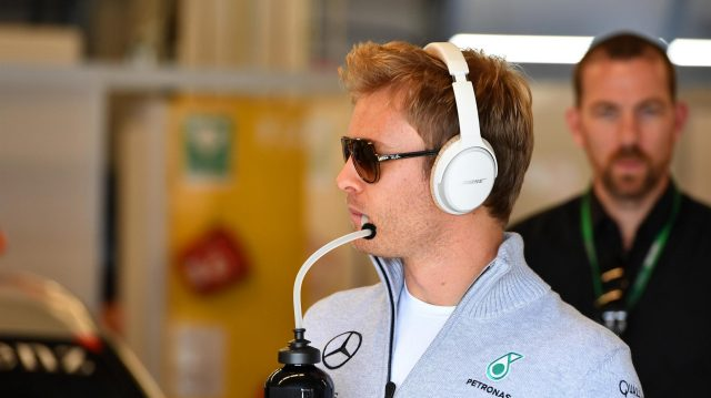 Nico Rosberg (GER) Mercedes AMG F1 on the drivers parade at Formula One World Championship, Rd18, United States Grand Prix, Race, Circuit of the Americas, Austin, Texas, USA, Sunday 23 October 2016. &copy&#x3b; Sutton Images