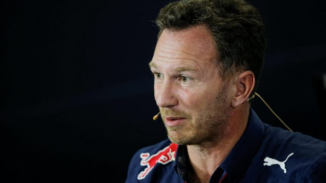 Christian Horner (GBR) Red Bull Racing Team Principal in the Press Conference at Formula One World Championship, Rd20, Brazilian Grand Prix, Practice, Interlagos, Sao Paulo, Brazil, Friday 11 November 2016. &copy&#x3b; Sutton Images