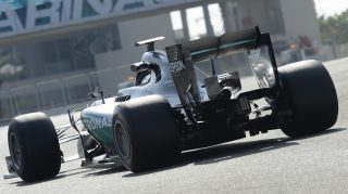 Hamilton back on track for Mercedes in Abu Dhabi tyre test