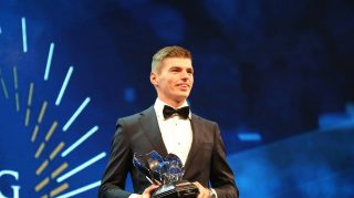 Verstappen a double winner at FIA Prize Giving