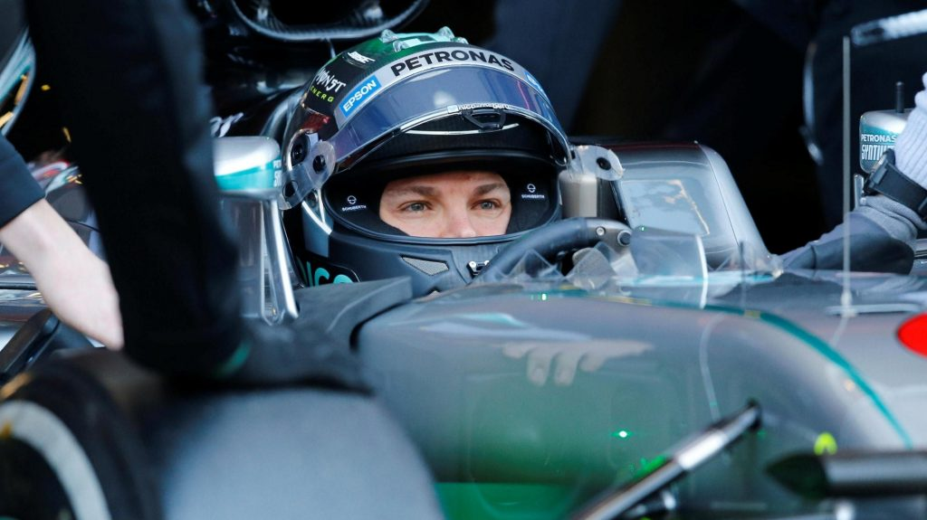 Rosberg%20quickest%20as%20Mercedes%20up%20their%20pace%20in%20Spain