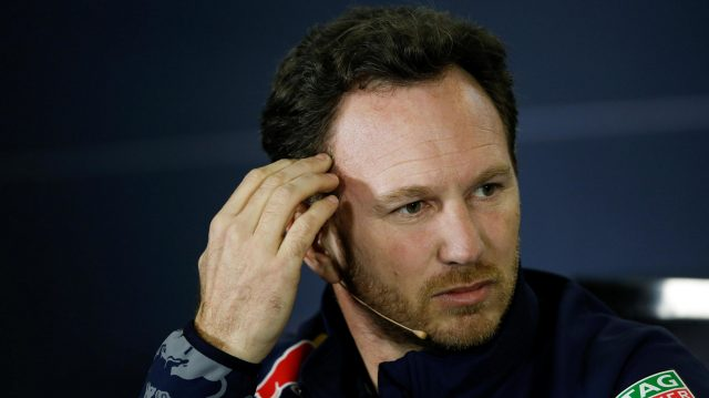 Christian Horner (GBR) Red Bull Racing Team Principal in the Press Conference at Formula One World Championship, Rd1, Australian Grand Prix, Practice, Albert Park, Melbourne, Australia, Friday 18 March 2016. &copy&#x3b; Sutton Motorsport Images