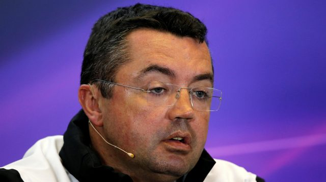 Eric Boullier (FRA) McLaren Racing Director at Formula One World Championship, Rd1, Australian Grand Prix, Practice, Albert Park, Melbourne, Australia, Friday 18 March 2016. &copy&#x3b; Sutton Motorsport Images