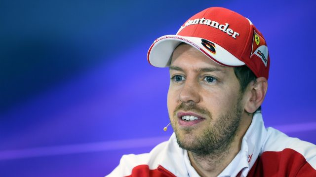 Sebastian Vettel (GER) Ferrari during the Press Conference at Formula One World Championship, Rd1, Australian Grand Prix, Qualifying, Albert Park, Melbourne, Australia, Saturday 19 March 2016. &copy&#x3b; Sutton Motorsport Images