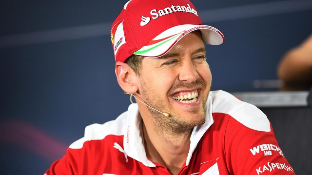 Sebastian Vettel (GER) Ferrari in the Press Conference at Formula One World Championship, Rd1, Australian Grand Prix, Preparations, Albert Park, Melbourne, Australia, Thursday 17 March 2016. &copy&#x3b; 2014