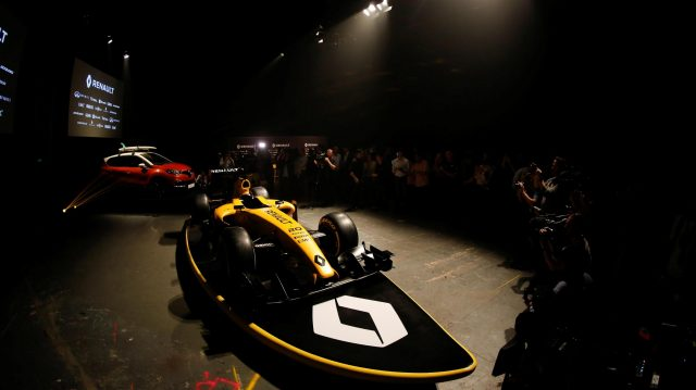 Renault Sport F1 Team Definitive Livery Launch at Formula One World Championship, Rd1, Australian Grand Prix, Preparations, Albert Park, Melbourne, Australia, Wednesday 16 March 2016. &copy&#x3b; Sutton Motorsport Images