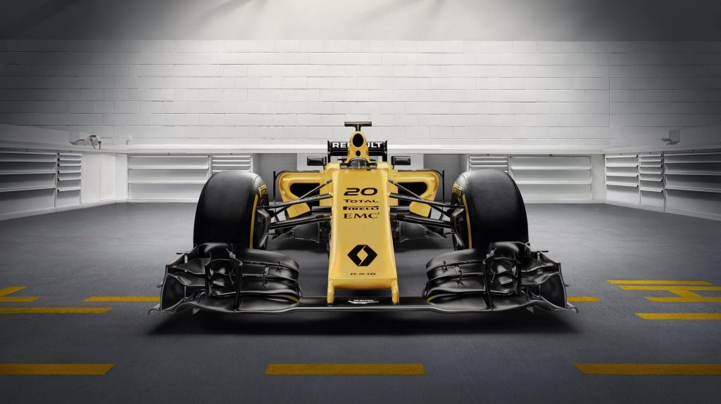 Renault Reveal Yellow Race Livery For 2016