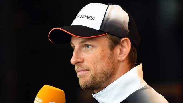 Jenson Button (GBR) McLaren at Formula One World Championship, Rd2, Bahrain Grand Prix Preparations, Bahrain International Circuit, Sakhir, Bahrain, Thursday 31 March 2016. &copy&#x3b; Sutton Motorsport Images
