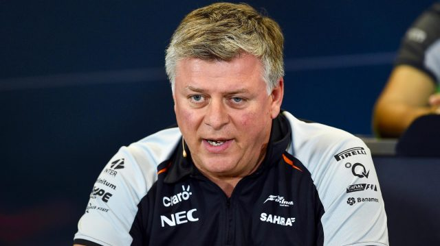 Otmar Szafnauer (USA) Force India Formula One Team Chief Operating Officer in the Press Conference at Formula One World Championship, Rd4, Russian Grand Prix, Practice, Sochi Autodrom, Sochi, Krasnodar Krai, Russia, Friday 29 April 2016. &copy&#x3b; Sutton Motorsport Images