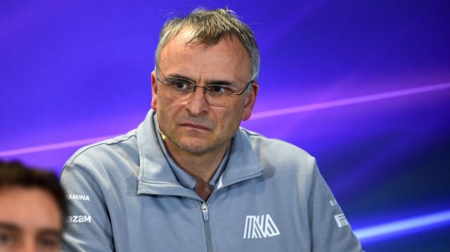 John McQuilliam (GBR) Manor Racing Technical Director in the Press Conference at Formula One World Championship, Rd4, Russian Grand Prix, Practice, Sochi Autodrom, Sochi, Krasnodar Krai, Russia, Friday 29 April 2016. &copy&#x3b; Sutton Motorsport Images