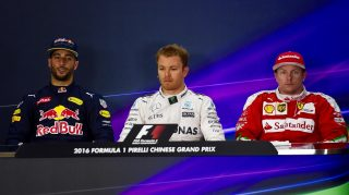 FIA post-qualifying press conference - China