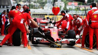 Gearbox penalty adds to Vettel's Russian woes