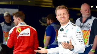 Rosberg admits fortune played into his hands